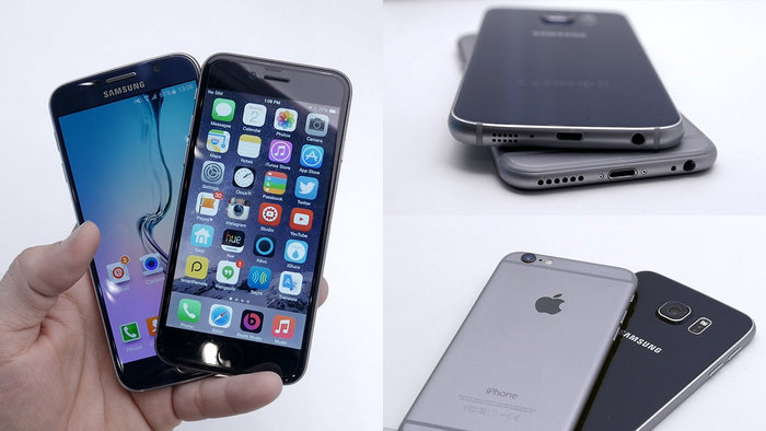 samsung galaxys6 to iphone 6 transfer